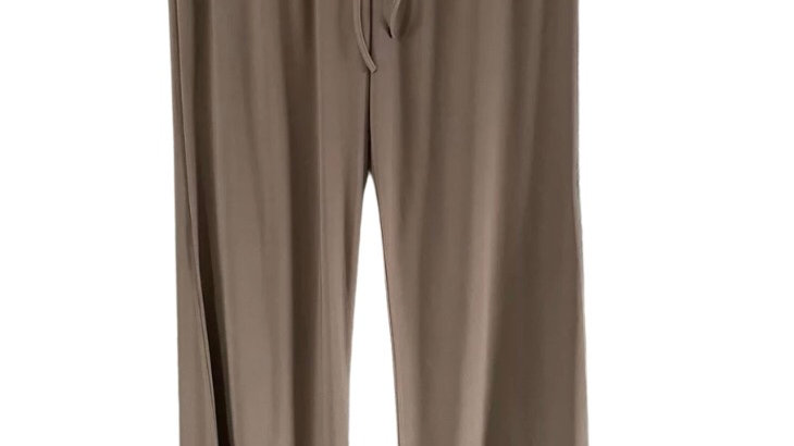 Womens / Ladies Brown Flow Summer Trousers Size M/L New With Tags