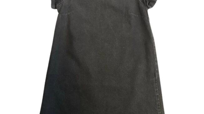 Girls Next Black Denim Dress Age 11 Years Excellent Condition