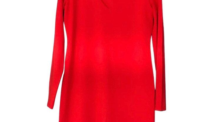 Women's / ladies H&M red long sleeve dress size Medium