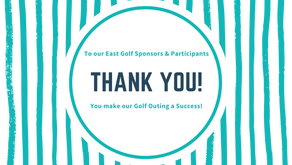 THANK YOU SPONSORS AND PARTICIPANTS - EAST GOLF 21'