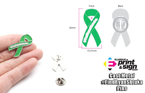 Cast Metal #FindRyanShtuka Pin