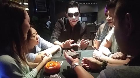 香港魔術師 MagicCarson 萬聖節魔術表演