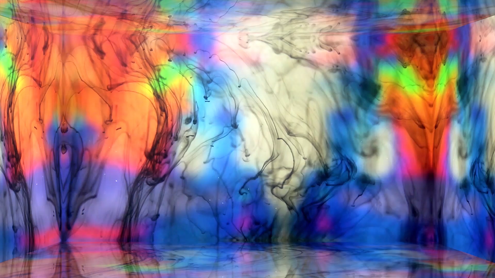 Pyschedelic video by visual artist Danielle Jacques