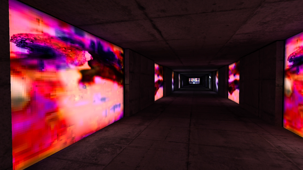 VR experience by artist Danielle Jacques