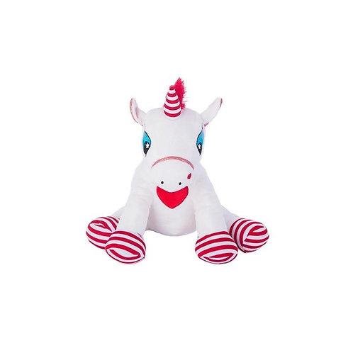 Candy Cane Striped Unicorn