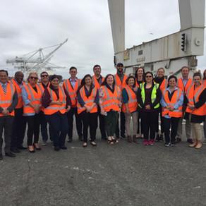 Intervine Visits the Port of Oakland