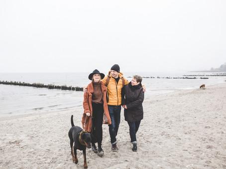 Ostseeurlaub mit Hund am Stettiner Haff