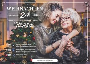 Weihnachts-Gewinnspiel auf facebook