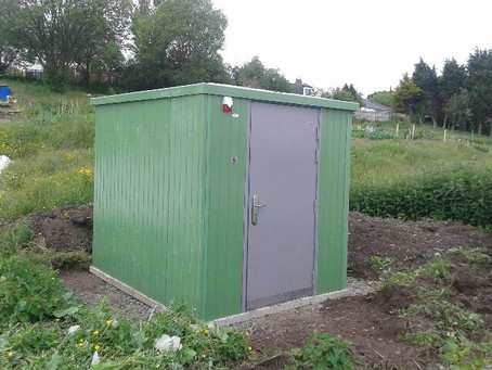 Allotment Toilet Project