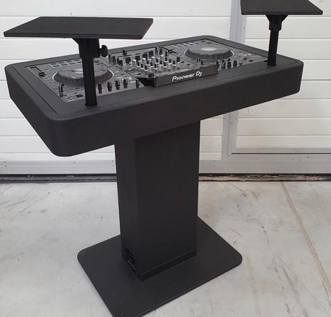 DJ booth black