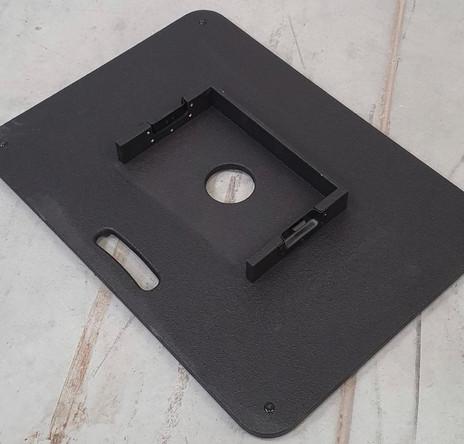 DJ booth zwart voetstuk
