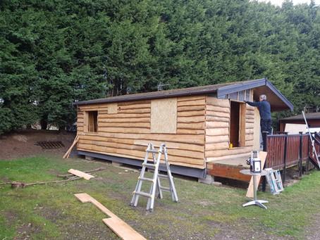 Log Cabin Refurb!!!!