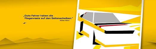 Blackdata. Blackdata Design. Brand Design. Corporate Design. Digital Design. Editorial Design. Werbegrafik. Webdesign. Hamburg. Poster Design. Flyer Design. Verpackungsdesign. Labeldesign.  Logodesign. Gestaltung. Aufkleberdesign. Stickerdesign. Werbemittelgestaltung. Guerilla Marketing. Walter Röhrl. Walter Röhrl Poster. Walter Röhrl Audi S1. Walter Röhrl Zitat Poster.
