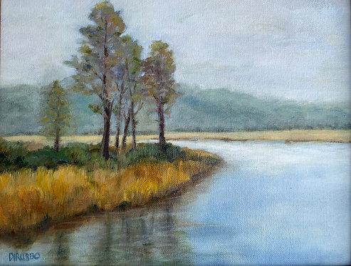 River Ran Through It Oil 11 x 14