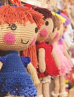 Poupées tricotées