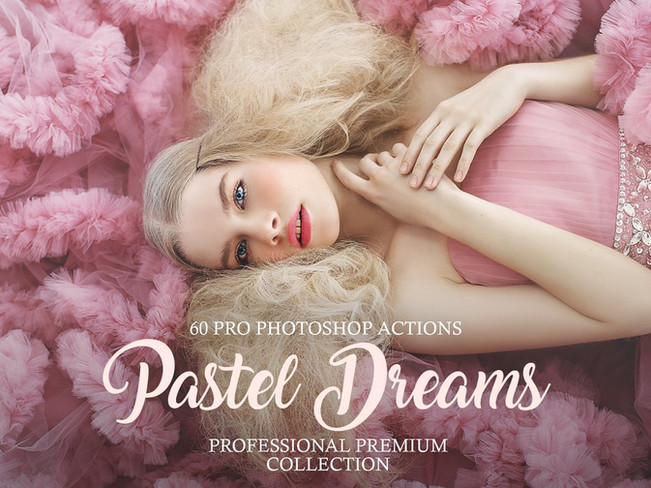 Pastel Dreams Photoshop Actions [Free Download]
