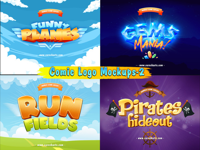 """Game Titles - """"PSD"""" Text Effects [Part-2]"""