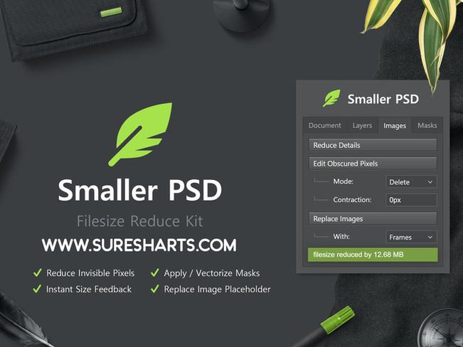 Smaller PSD - Filesize Reduce Kit [Free Download]