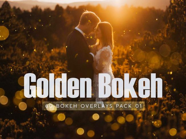 CreativeMarket – 60 Golden Bokeh Pack 01 lights [Free Download]