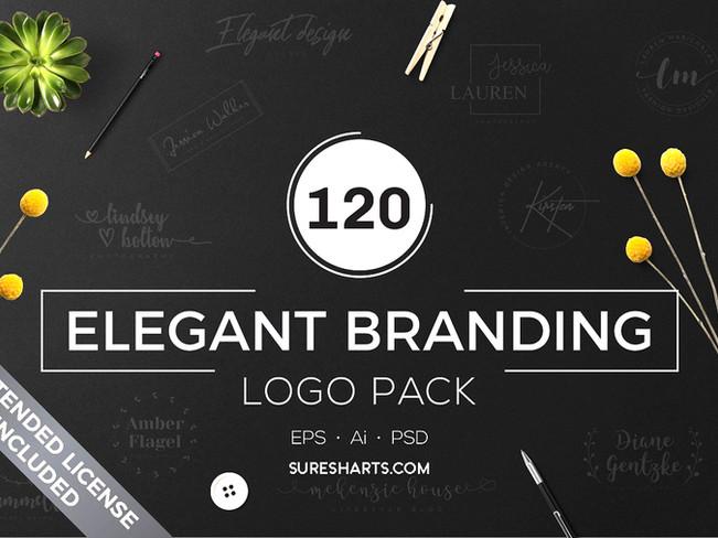 120 Elegant Branding Logo Pack Free Download [Free Download]