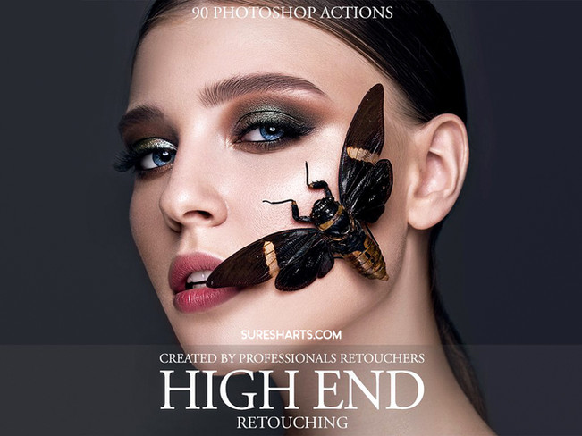 Fix The Photo-High End Retouching Photoshop Action [Free Download]