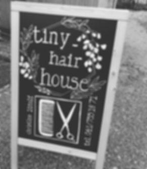 tiny_hairhouse gets a brandnew chalkboar