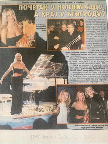 Frankfurt News 2001