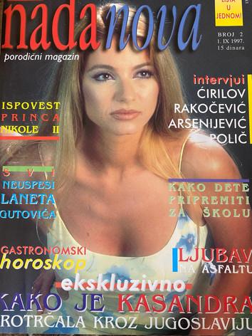 Nada Nova 1997 (coverpage)