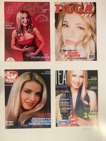 European magazine covers