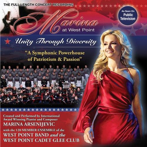 "DVD ""Marina at West Point: Unity Through Diversity"""