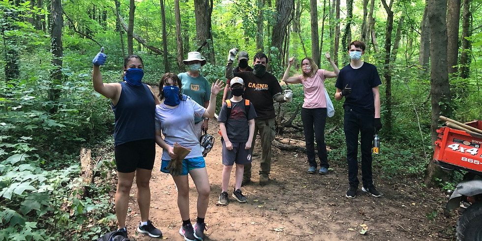 Trail Maintenance Workday (REGISTRATION REQUIRED)