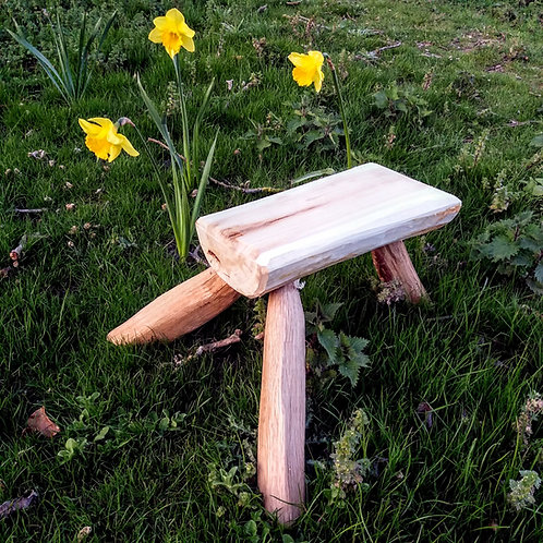 Intro to Green Woodworking: Make a Stool.