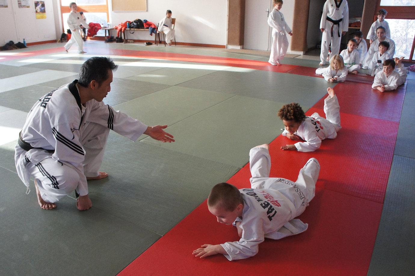 Photo#Taekwondo-MaitreFlorentin-enfants.