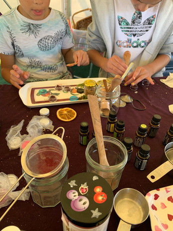 Make & Take Spa Product Workshops