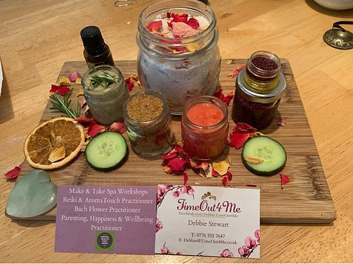 Make & Take Spa Workshops with Home Start Herts
