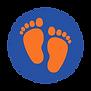 Footprint Circle orange 2-2.png