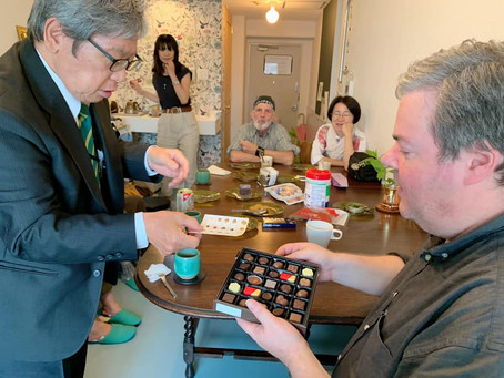 9月のMimi Pepper English Cafe開催日