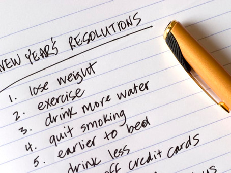 3 Good Things About New Year's Resolutions