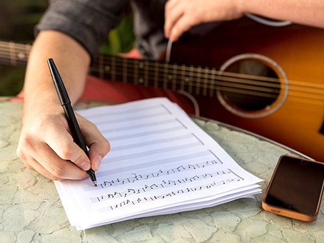 Steps to Writing Your First Song
