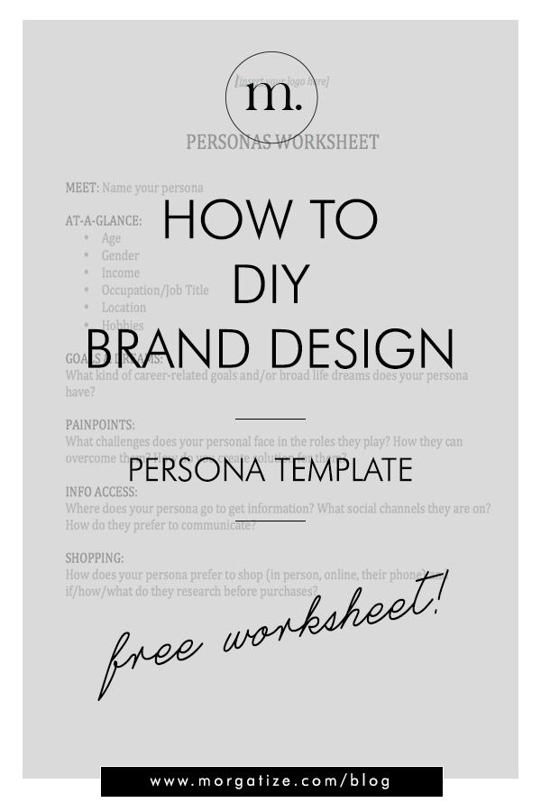 Morgatize Brand Design Persona Template