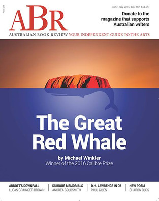 On reading 'The Great Red Whale'