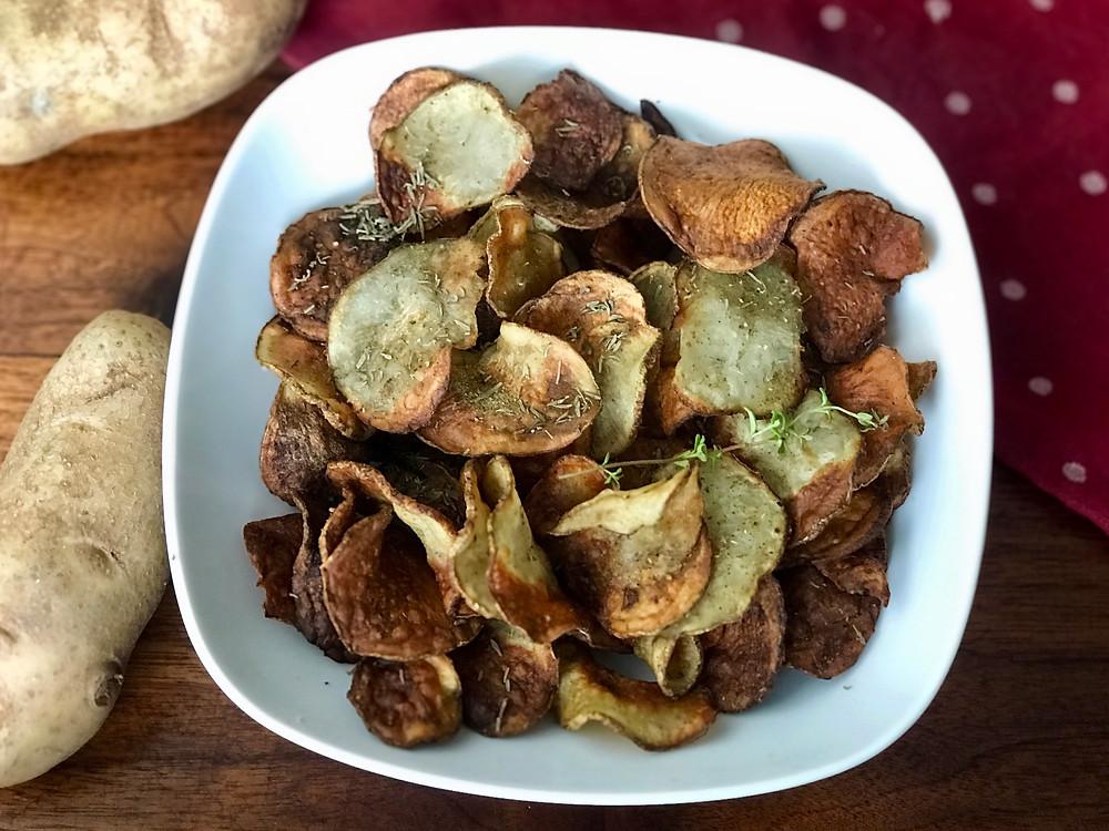 No-Turkey and Stuffing Potato Chips