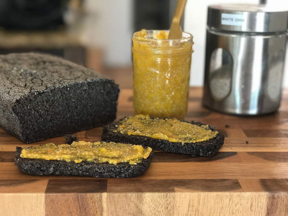 Gluten Free Black Rice Bread