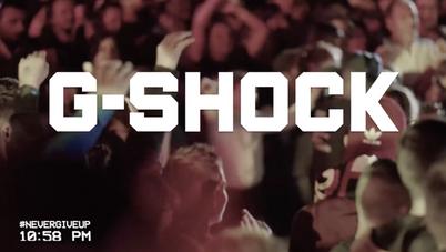 G-Shock  #NEVERGIVEUP