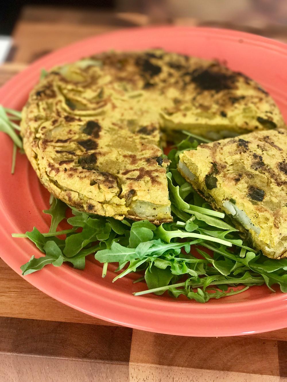 Vegan Spanish Tortilla