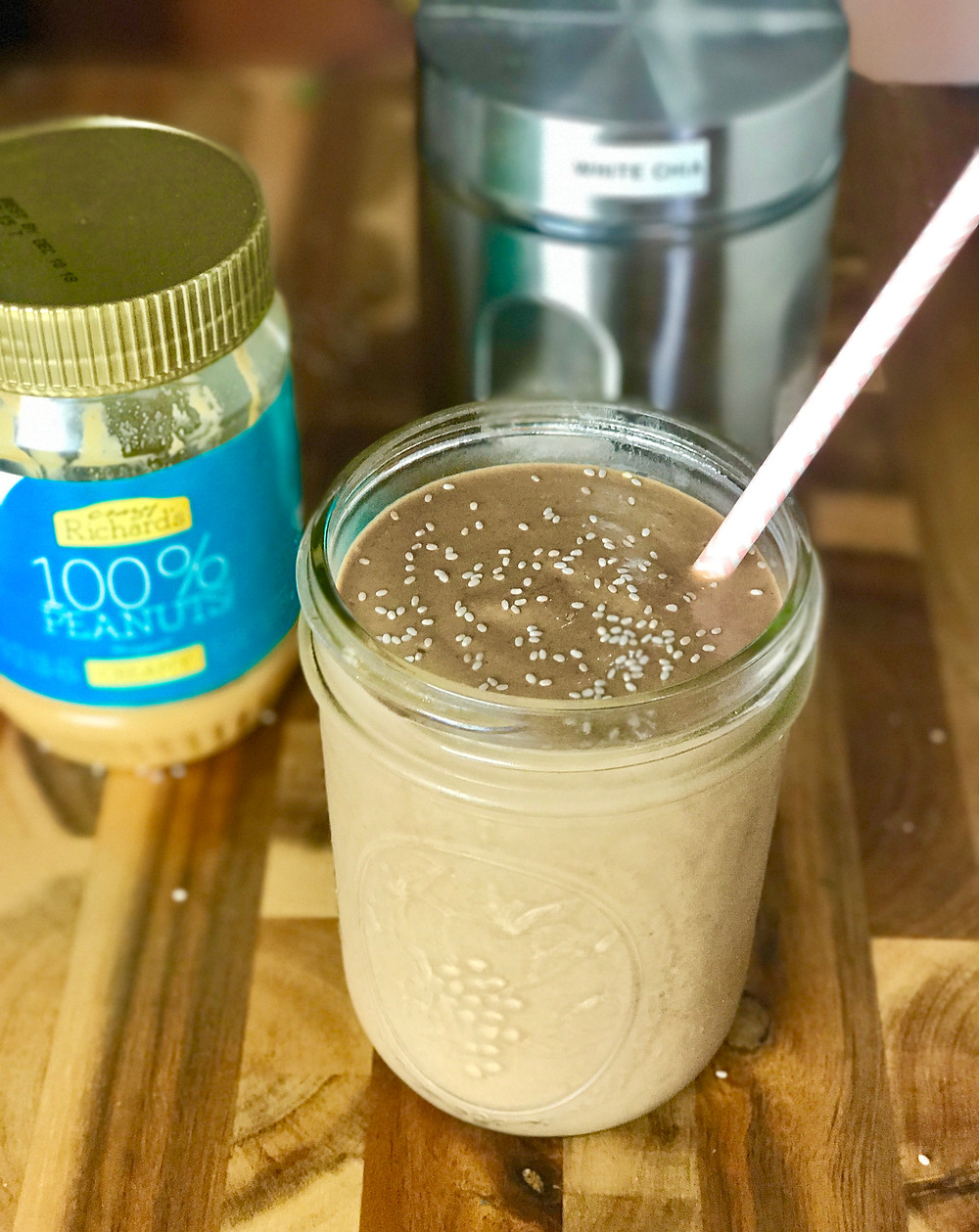 Vegan Chocolate Chia Milkshake