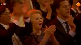 Performing for Queen Beatrix