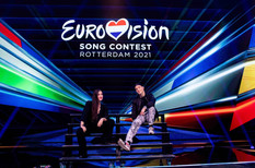 Opening the 2nd Semi-Final of the Eurovision Song Contest 2021