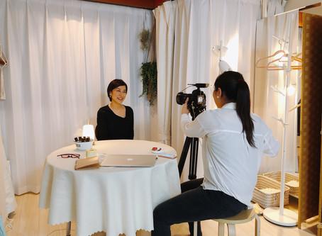 日本テレビ取材