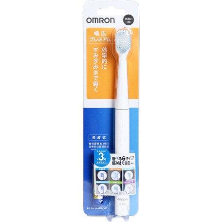 オムロン 音波式電動歯ブラシ HT-B222-W ホワイト